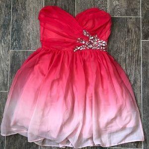B. Darlin Pink Mini Dress